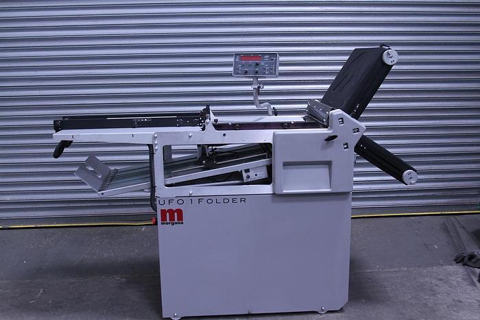 Used Morgana UFO 1 Folding Machine (#1151)