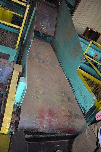 Used 3ft wide x 11ft long belt conveyor