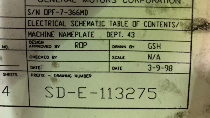 OBERLIN PRESSURE FILTRATION SYSTEM MODEL OPF-7-MD