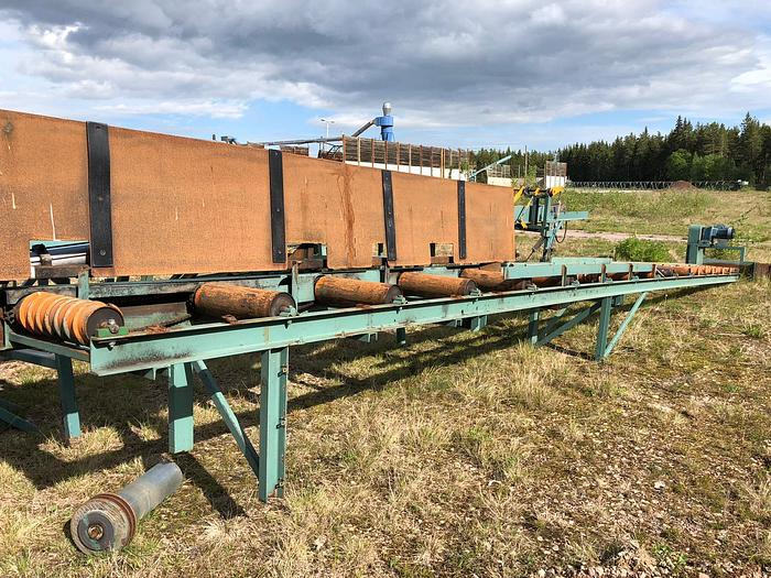 Used Roller conveyor for boards