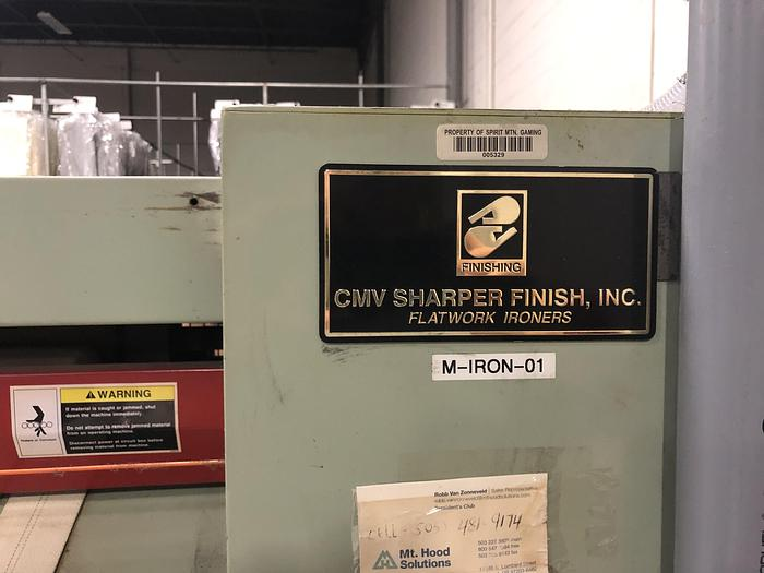 1999 SHARPER FINISH 20 X 120 GAS IRONER