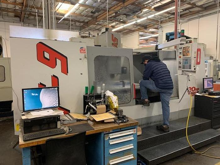 Used 1998 Haas VF9 CNC Vertical Machining Center #5734