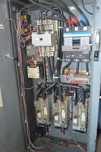 Used Cutler Hammer Solid State Reduced Voltage starters, 300HP soft start starter Eaton 600 amp circuit breaker