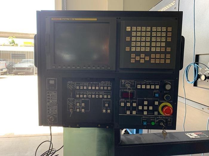 1999 2000 Watt Amada Pulsar 1212-III CNC Laser
