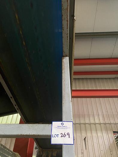 Used Steel Conveyor 5.5m L 0.7m W