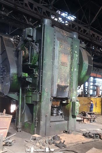 1975 Hot forging press SPIERTZ PF2500