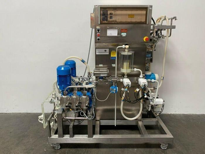 Used Amersham 1409 BioProcess System, Chromatography Skid 208V