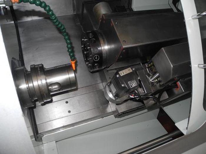 Tornio cnc motorizzato TECNOMAC