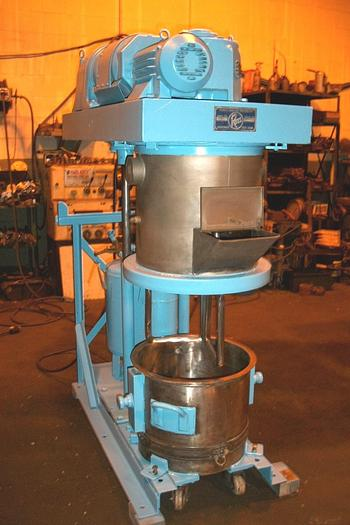 Used 10 GALLON ROSS DOUBLE PLANETARY MIXER – STAINLESS STEEL