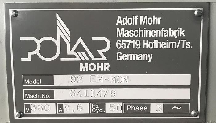 1994 Polar 92 EM Monitor