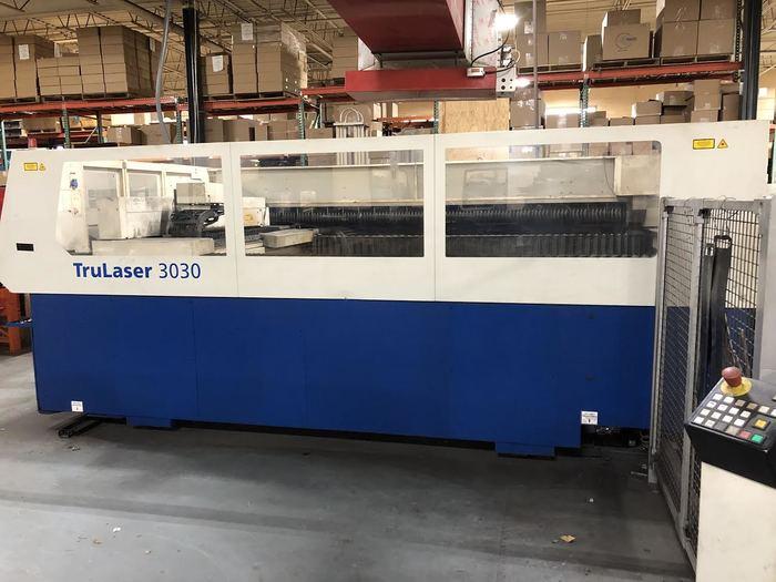 Trumpf 3030 CO2 Laser (2008)