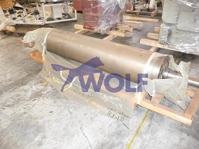 Gebraucht Ersatzwalze für Fünfwalzwerk BÜHLER SFL-1800Teilenummer UVZ-1000-487 mit Neuschliff.