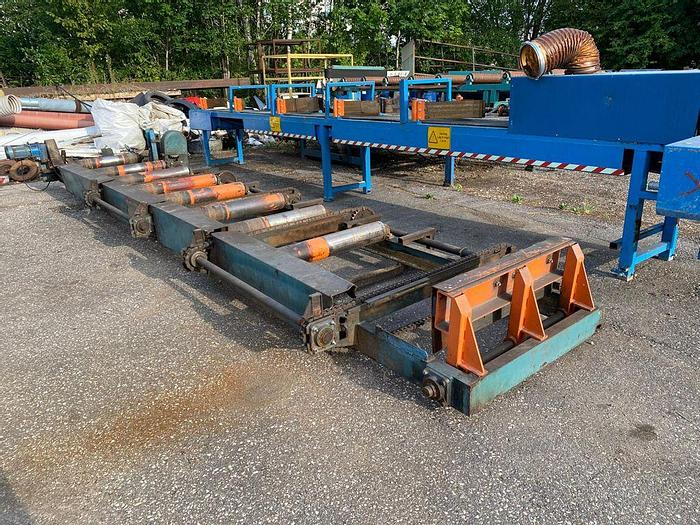 Used Roller conveyor with kicker