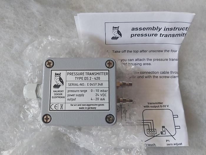 Drucktransmitter, DS2 420, Kalinsky,  neu