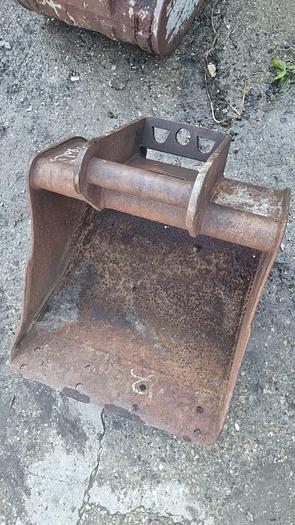 Gebraucht Tieflöffel 57 cm mit Lehnhoff MS03 Aufnahme