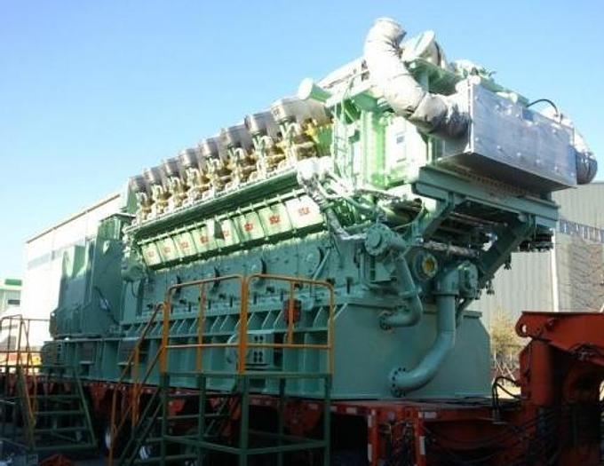 7.79 MW 2013 New STX-Niigata 16V34HLX HFO Generator Sets