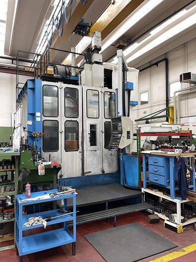 Installata Tornio Verticale Cnc TOS HULIN SKIQ 12 CNC C