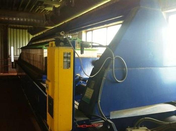 Used FILTRI DIEMME chamber filter press – GIGANTE 1500