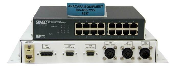 Used SMC SMC-EZ 1016DT EZ Switch 10/100Mbps, Adam-6052 Data Acquisition Module (8637)