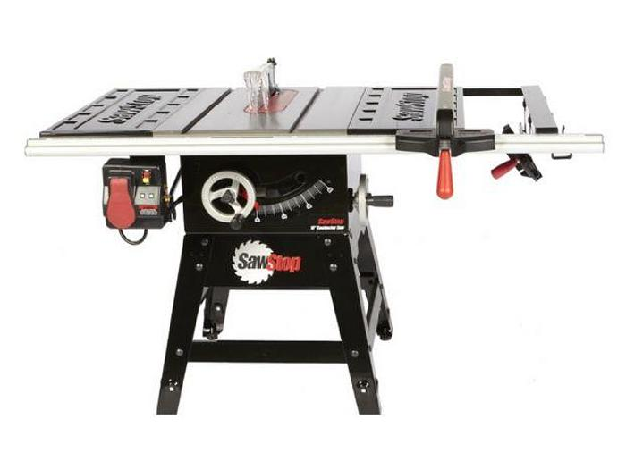 """SawStop CNS Series 10"""" Contractor Table Saw"""