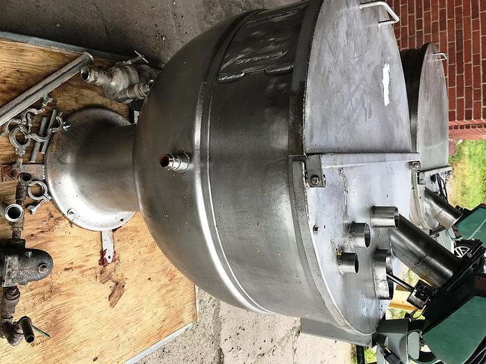 60 Gal Stainless Steel Pedestal Stand Steam Jacketed Kettle