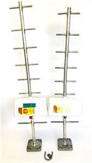 Used Radio Frequency Systems PD10108-1, PD1018-2 Directional Antenna,Lot of 2 (6670)W