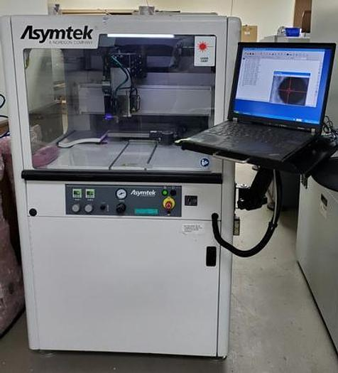 Used ASYMTEK  S-820B Spectrum PCB / Underfill dispenser - DJ9000