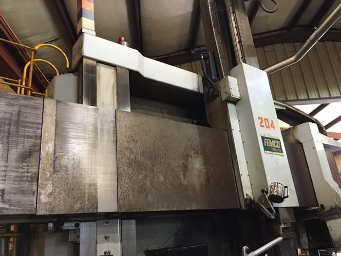 2008 Femco WVL-12 CNC Vertical Turning Center