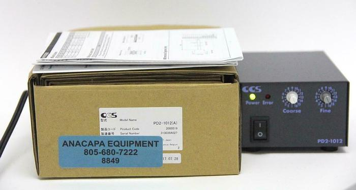CCS Inc. PD2-1012(A) Light Source Power Supply, 2000519 NEW (8849) W