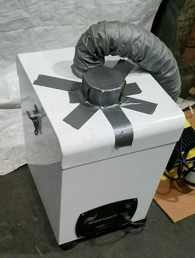 Used Quatro Air Solderpure Air Purifier Dust Collector Solder Wax Vapor Vacuum