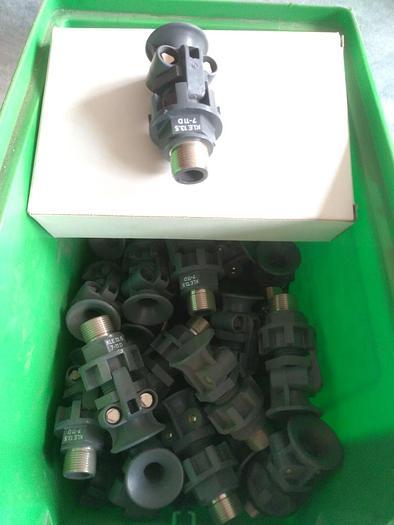 60 Stück Trompetenverschraubungen  CEAG, Eex, Polyamid, neu -80%