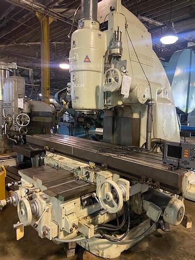 Used Cincinnati Vertical Mill #550-20