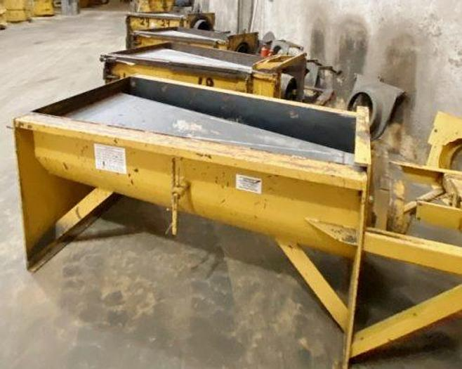 Used Besser Flared End Precast Concrete Forms