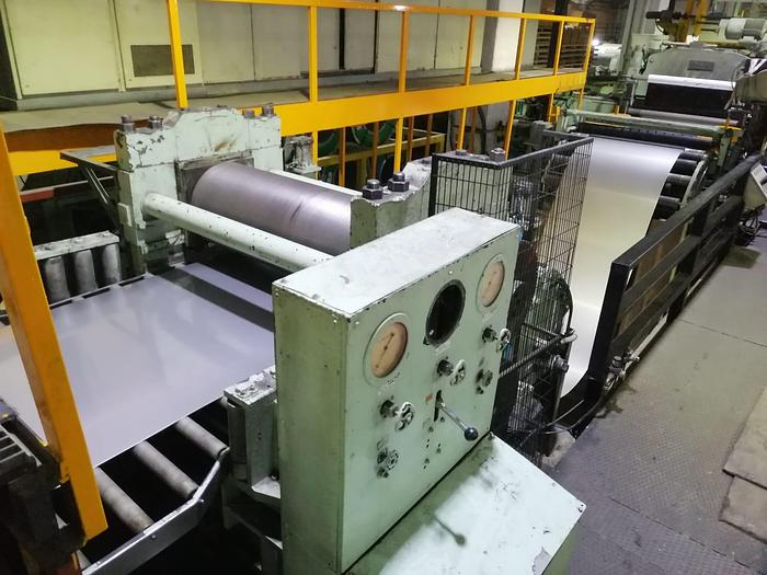 Used 1500mm Ungerer Stainless Steel Cut-to-Length Line: CTL-148