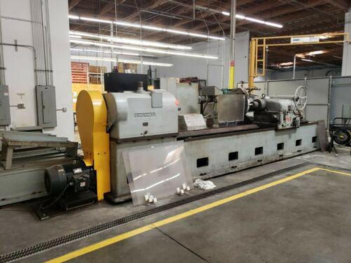 "Used CINCINNATI 36"" X 120"" CNC ROLL / CYLINDRICAL GRINDER WITH XTRA TOOLING FANUC 0"