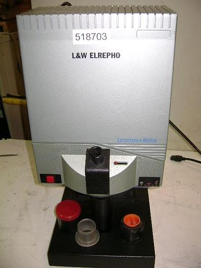 Used SPECTROMETER LORENTZEN & WETTRE ELREPHO 1200-0917
