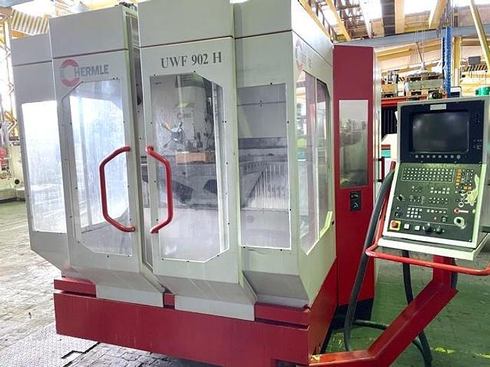 Gebraucht CNC Fräsmaschine HERMLE UWF 902 H