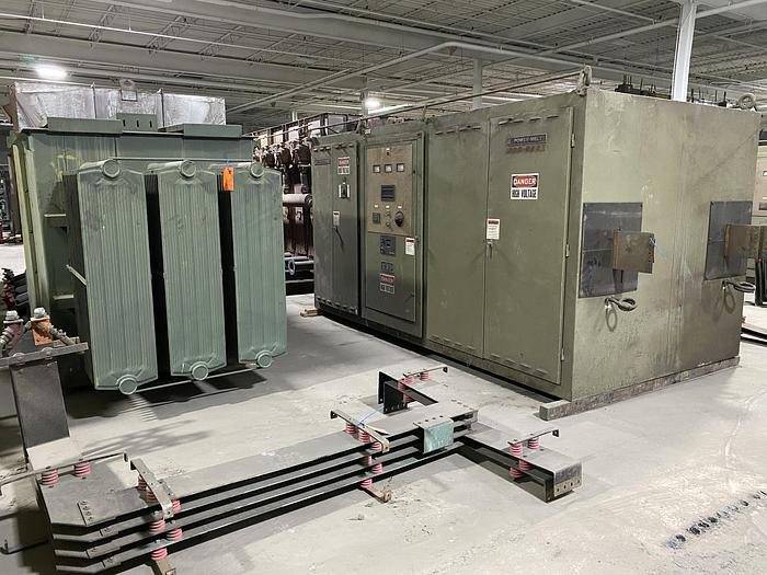 2001 INDUCTOTHERM  DUAL 15 METRIC TON MELT SYSTEM