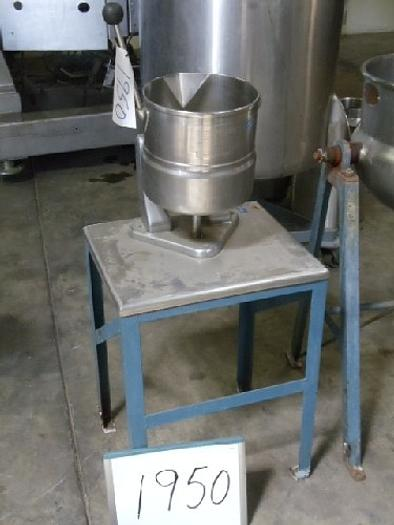 TDC-10 Groen 10 Quart Jacketed Lab Kettle