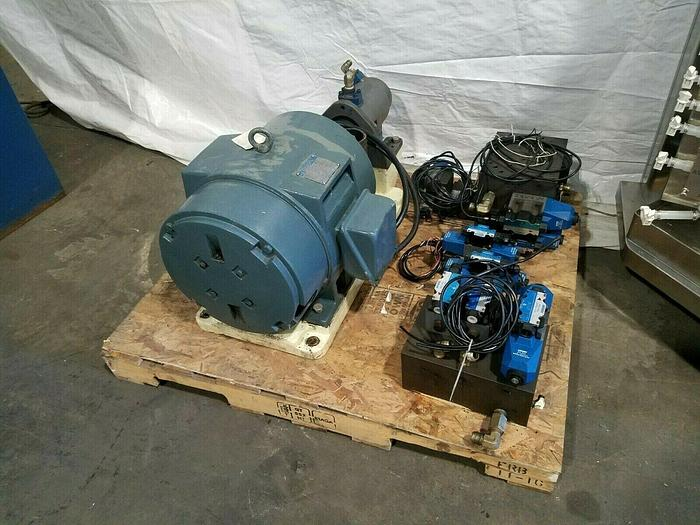 Used HICO 30 HP Electric Motor 220/440 with Hydraulic Pump