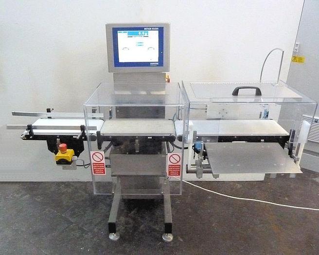 Used R 15001 E - Checkweigher GARVENS S 3 - 1,200 g