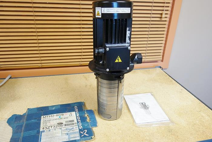 Grundfros MTH2-80/8A-W-A-AUUV High pressure Immersible Pump - Coolant Pump MTH2-80/8A-W-A-AUUV