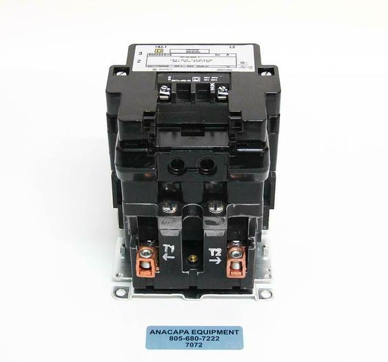 Used Square D 8502 SEO1 S Full Voltage AC Magnetic Contactor Type S + Auxiliary (7072