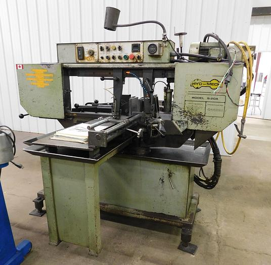 Used Hyd-Mech S-20A Automatic Feed Bandsaw S20-A