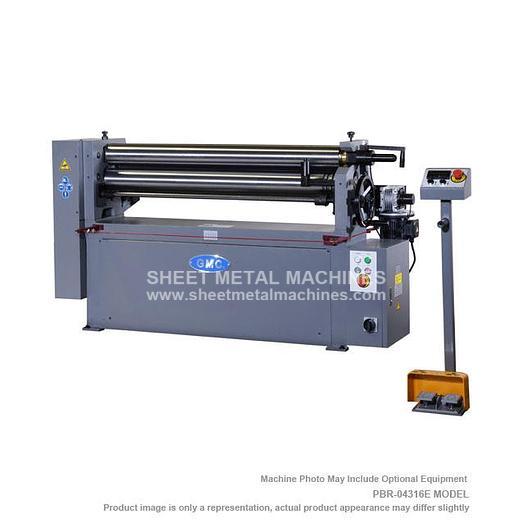 GMC Machine Tools Power Bending Roll PBR-0412E