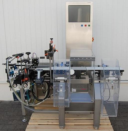 Used R 14740 D - Checkweigher OCS HC - 750 g with PCE Datamatrix