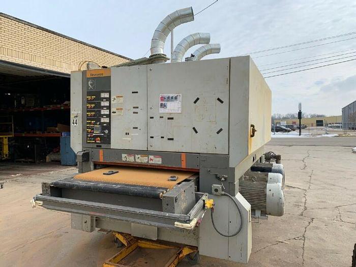 "Used Timesavers 352-4IC Industrial Sander 52""Wide 4 Head Abrasive Belt Machinery 460V"