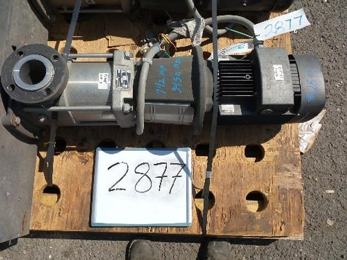 Used Grundfos 3'' Multi-Stage Pump