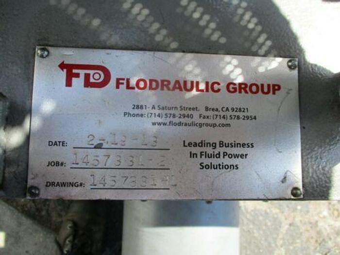 CONTINENTAL HYDRAULICS (3) PUMP HYDRAULIC UNIT PVR50-42A15 FLODRAULIC GROUP