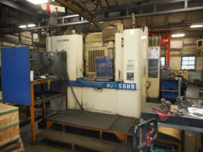 2000 OKUMA MX 50 Horizontal Machining Center New 2000